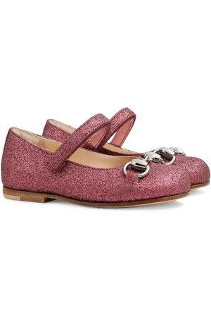 Gucci Girls Ballerinas - Aisha glitter ballerina shoes