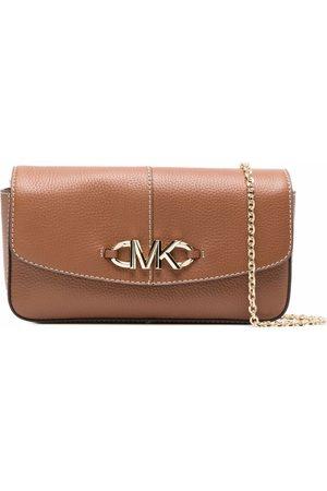 Michael Michael Kors Izzy logo-embellished clutch bag