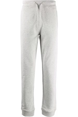 A.P.C. Logo-print drawstring track pants - Grey