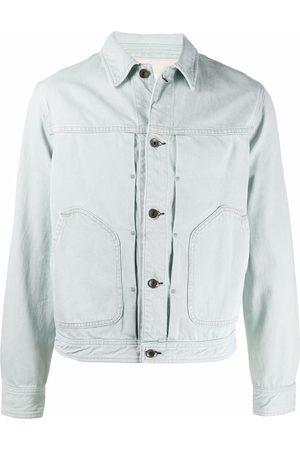 RAG&BONE Men Denim Jackets - Light-wash denim jacket