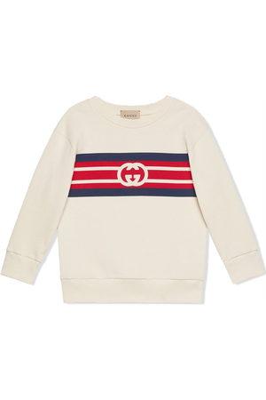 Gucci Kids Boys Hoodies - Interlocking G logo sweatshirt