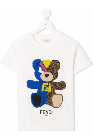 Fendi Logo crew-neck T-shirt
