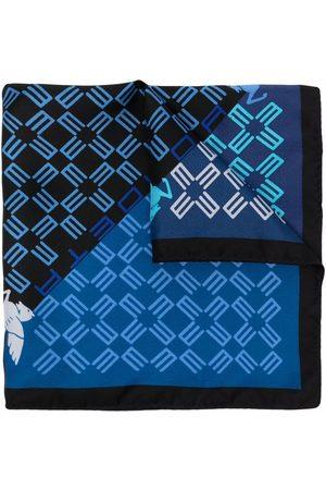 Etro Monogram-print silk scarf