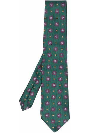 Etro Floral-print silk tie