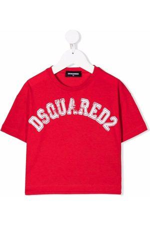 Dsquared2 Kids Logo-print cotton T-shirt