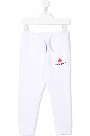 Dsquared2 Logo-print cotton track pants