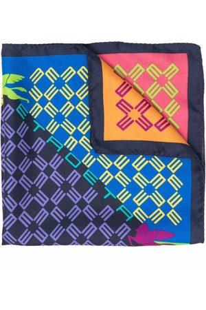 Etro Men Scarves - Monogram-print scarf