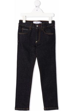 Philipp Plein Mid-rise straight-leg jeans