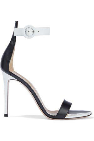 Gianvito Rossi Woman Dama Two-tone Leather Sandals Size 35