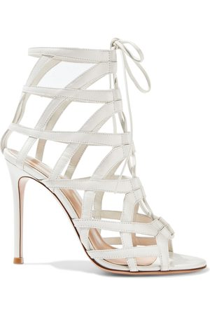 Gianvito Rossi Woman Adina 105 Cutout Leather Sandals Size 35