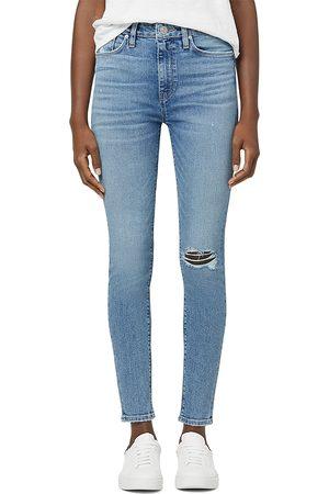 Hudson Barbara High Rise Ankle Super Skinny Jeans in Magic Moon