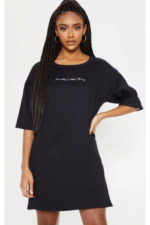 PRETTYLITTLETHING Oversized Boyfriend T Shirt Dress
