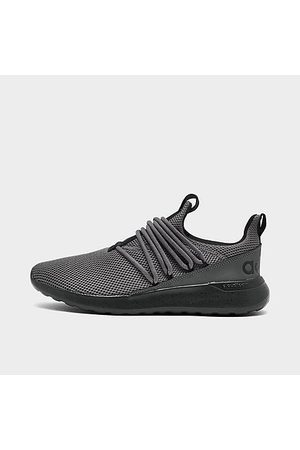 Adidas Men's Essentials Lite Racer Adapt 3 Slip-On Casual Shoes (Wide Width) in Grey/Grey Size 7.5