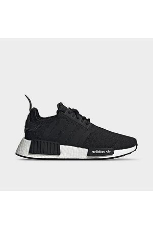 adidas Big Kids' Originals NMD R1 Refined Primeblue Casual Shoes in /Core Size 4.0 Plastic