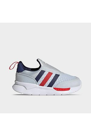 Adidas Casual Shoes - Kids' Toddler Originals ZX 360 1 Slip-On Casual Shoes in /Halo Size 4.0