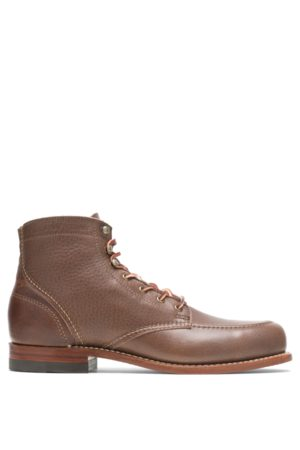 Wolverine Men Boots - Men's 1000 Mile 1940 Boot - Olive Tanned , Size 7.5