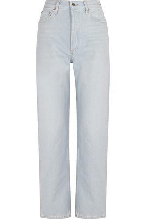 AGOLDE 90's Pinch Waist light straight-leg jeans