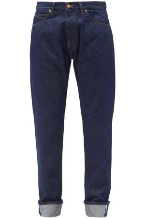VERSACE Mid Rise Turn-up Cuff Jeans - Mens