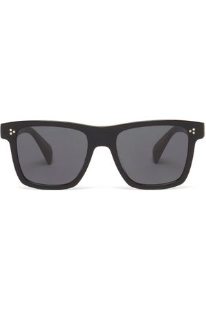 Oliver Peoples Casian Oversized Square Acetate Sunglasses - Mens