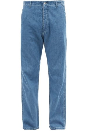 YMC Padre Organic-cotton Straight-leg Jeans - Mens - Indigo