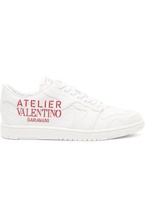 VALENTINO GARAVANI Men Sneakers - Atelier Valentino Leather Trainers - Mens