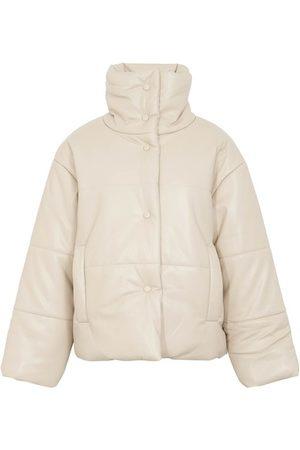 Nanushka Hide puffer jacket in vegan leather