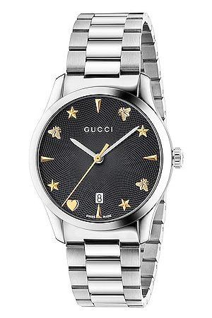 Gucci 126MD Watch in Metallic,Yellow