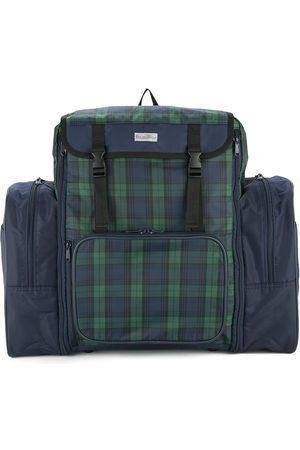 Familiar Boys Rucksacks - Checked panel backpack