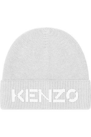 Kenzo Men Beanies - Printed Logo Beanie