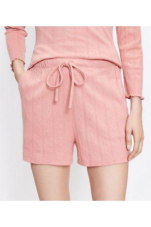 Loft Pointelle Pajama Shorts
