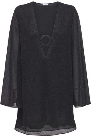 Oseree Women Party Dresses - Lumière Ring Detail Kaftan Mini Dress