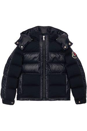 Moncler Figen Hooded Nylon Down Jacket