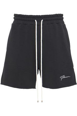 FLANEUR HOMME Men Shorts - Essential Cotton Sweat Shorts