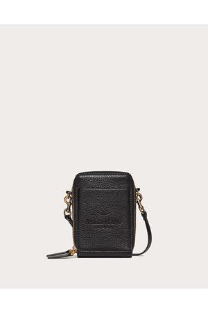 VALENTINO GARAVANI Men Bags - Valentino Garavani Identity Mini Bag Man 100% Pelle Di Vitello - Bos Taurus OneSize