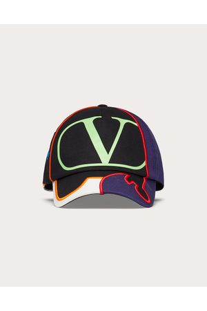 VALENTINO GARAVANI Men Caps - Vlogo Signature Baseball Cap Man / Cotton 100% 57
