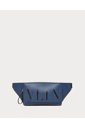 VALENTINO GARAVANI Men Bags - Vltn Leather Belt Bag Man Indigo 100% Pelle Bovina - Bos Taurus OneSize