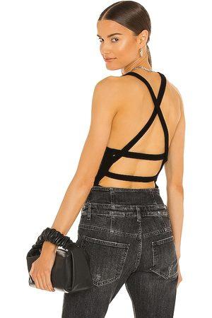 AGOLDE Nova Banded Back Bodysuit in .