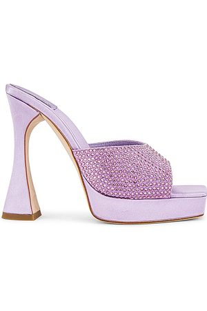 Jeffrey Campbell Hollywood Mule in Lavender.