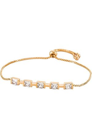 Natalie B Jewelry Hermez Bracelet in Metallic .