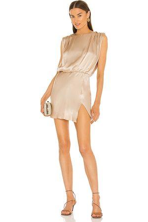Amanda Uprichard Camela Dress in Nude.