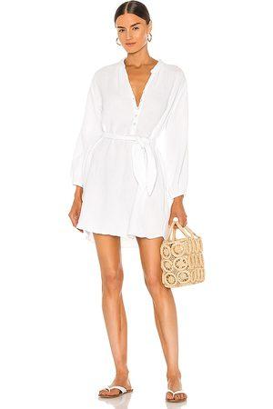 LA Made Sonia Shirt Dress in .