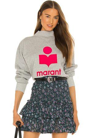 Isabel Marant Moby Sweatshirt in Grey.