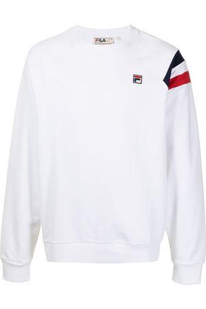Fila Men Sweatshirts - Logo-patch cotton sweatshirt