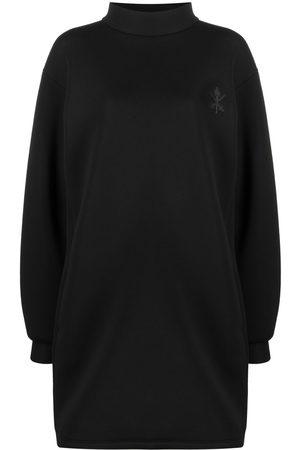 Opening Ceremony Women Sweatshirts - Crest-embroidered sweatshirt dress