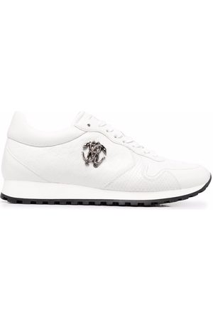 Roberto Cavalli Men Sneakers - RC monogram-debossed sneakers