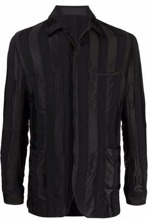 Haider Ackermann Striped shirt jacket