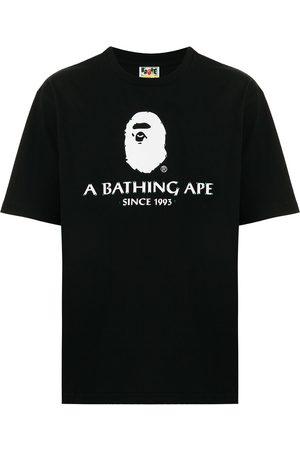 A Bathing Ape Men T-shirts - Logo-print cotton T-shirt