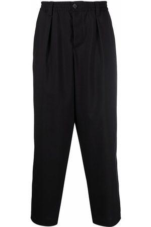 Marni Men Pants - Elasticated waist drop-crotch trousers