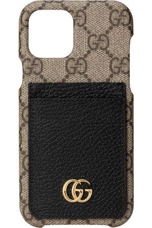 Gucci Women Phones Cases - GG Marmont iPhone 12 Pro case - Neutrals