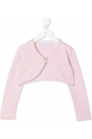 MONNALISA Cropped jersey cardigan